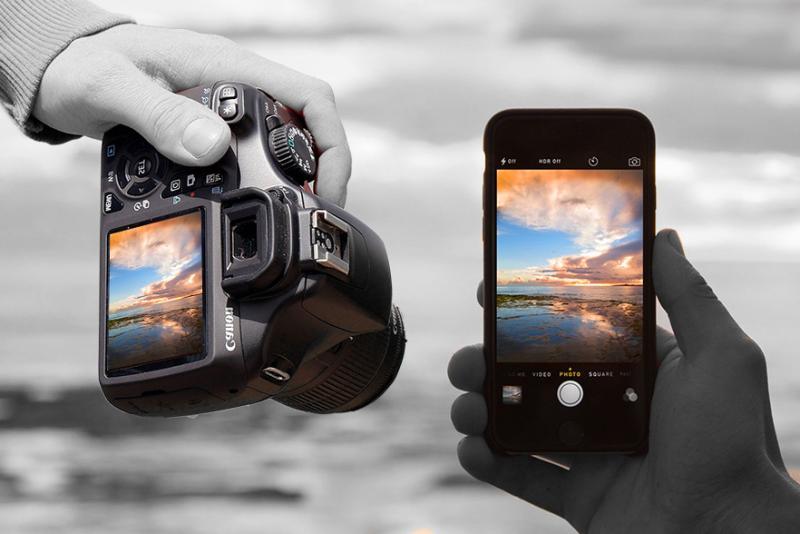 Fotoğraf Makinesi vs Cep Telefonu